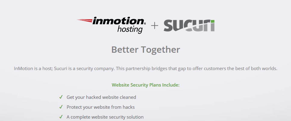 Security at Inmotion